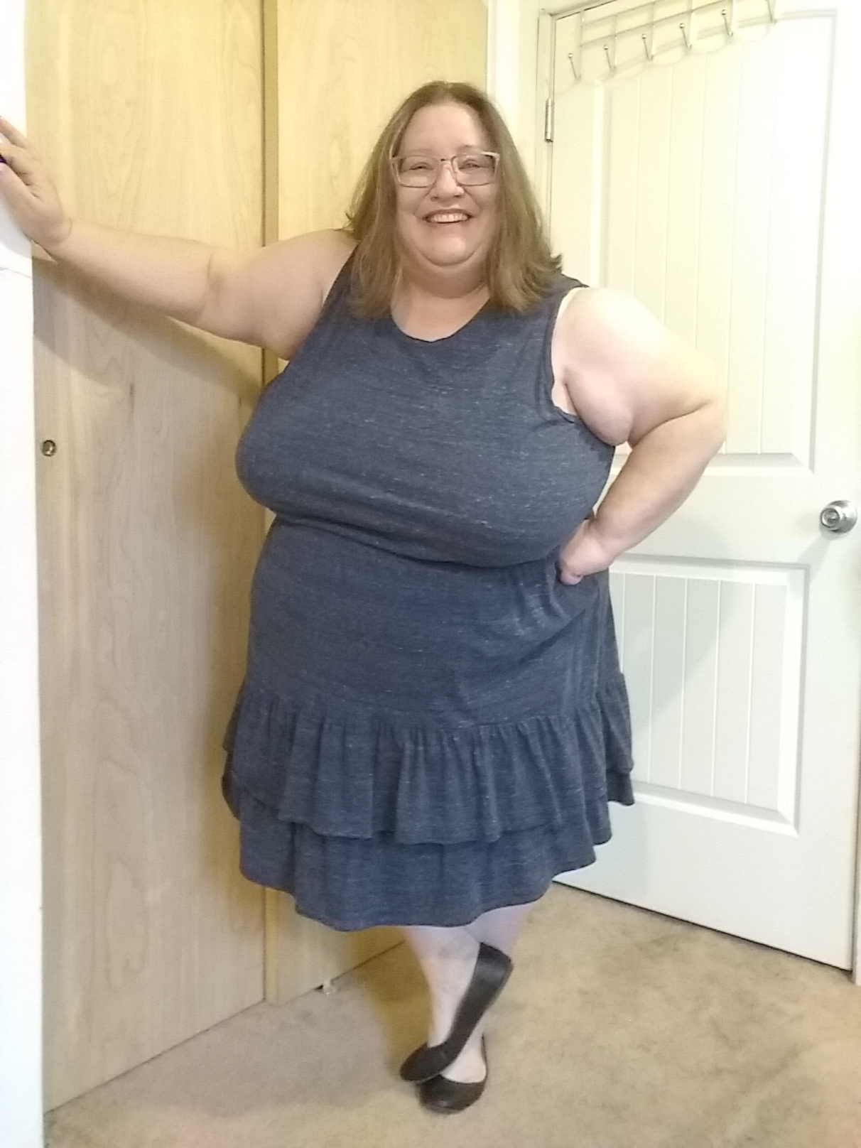 8 Ways to Wear a Plus Size Blue Dress - Photo Shoot 12/27/19