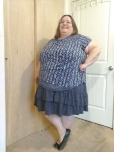 8 Ways to Wear a Plus Size Blue Dress - Photo Shoot 12/27/19