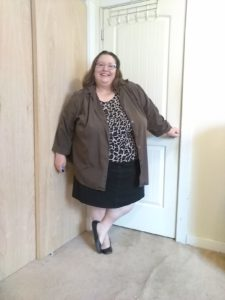Putting Together Outfits - Plus Size Photo Shoot, January 24, 2020